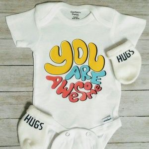 You are awsome baby onesie kids clothing